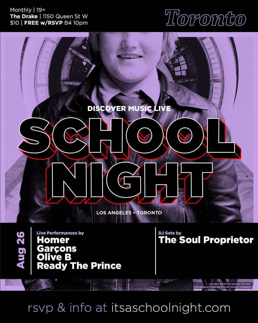 School Night ~ Toronto